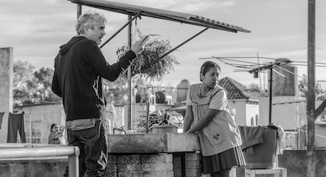 On the set of Roma